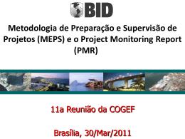 Monitoramento de Projetos v26Mar2011