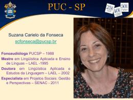 Suzana Carielo da Fonseca - PUC-SP