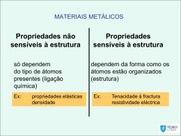 PROCESSAMENTO DE MATERIAIS METÁLICOS