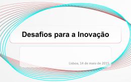 Desafios para a Inovação
