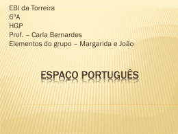 Margarida e João Francisco.