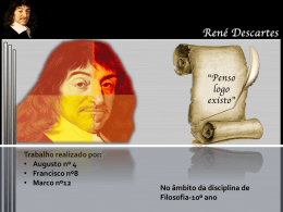 René Descartes - WordPress.com