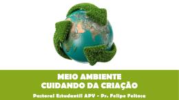 PE2013-C18-MEIO AMBIENTE CUIDANDO DA CRIAÇÃO