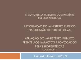 x congresso brasileiro do ministério público do meio