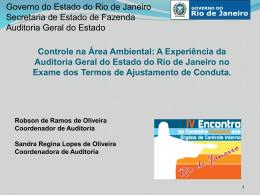 A Experiência (...) - Robson e Sandra Tipo do arquivo: pptx