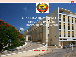 Hospital Central de Maputo - III Jornadas Cientificas do HCM 2015