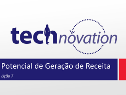 Lição 7 - Technovation