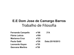 E.E Dom Jose de Camargo Barros