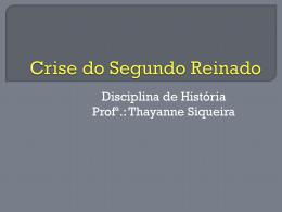 Crise do Segundo Reinado