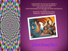 Alucinações - Psicopatologia
