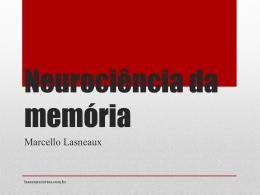 Neurociência da memória