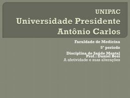 UNIPAC Universidade Presidente Antônio Carlos