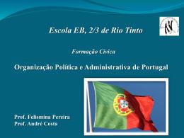 Organização Política e Administrativa de