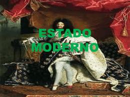 ESTADO MODERNO - Colegio Ideal