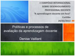 Carrera docente: Estado del Arte - I Simpósio Internacional Sobre