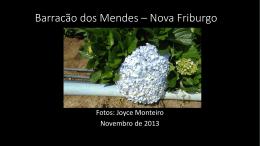 Barracão dos Mendes * Nova Friburgo