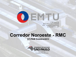 EMTU - Corredor Noroeste