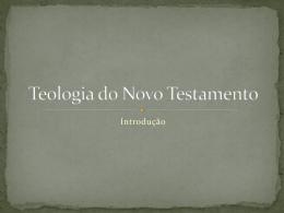 Teologia do Novo Testamento