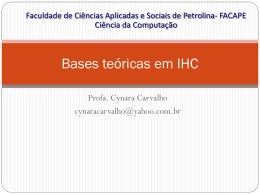 Bases teóricas em IHC (106065)