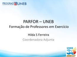 PARFOR - UNEB - APLB