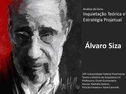 Álvaro Siza - Teoria e História da Arquitetura Contemporânea