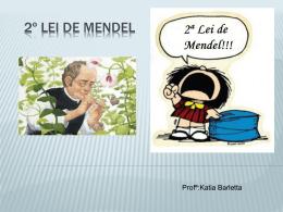 2º Lei de Mendel - Escola Rainha do Brasil