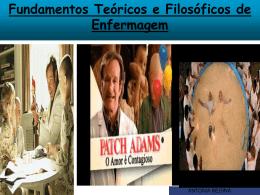 Fundamentos Teóricos e Filosóficos de Enfermagem