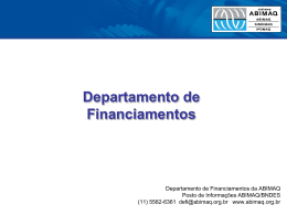 Departamento de Financiamentos