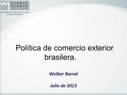 Presentacion Welber Barral 23-07-2013