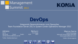 DevOps - Management Summit