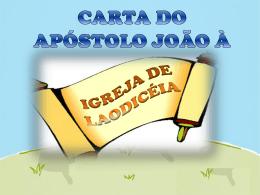carta do apóstolo joão à