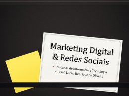 Marketing Digital & Redes Sociais