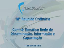 Abril 2013 - Ministério do Desenvolvimento, Indústria e Comércio