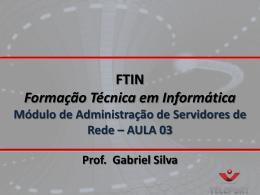 FTIN - Aula 03