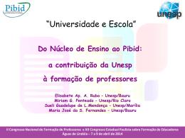 Sueli Guadelupe (UNESP/FFC/Marília) e Profa. Elizabete Rubo