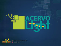 Instituto Vencer x Acervo Histórico Light