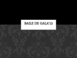 Baile de Gala*12
