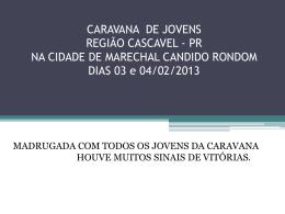 Evangelização Marechal Candido Rondon