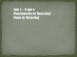 Plano de marketing - prof-nair