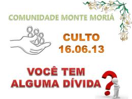 Lc 07.36-48 - Comunidade Monte Moriá