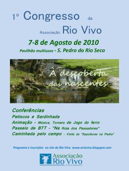 congresso Rio Vivo