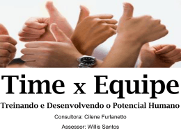Outdoor Time x Equipe