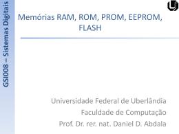 RAM, ROM, PROM, EEPROM, FLASH - Facom