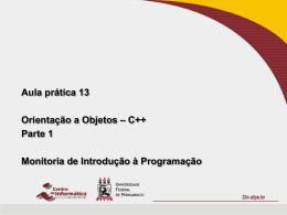 C++ - Classes