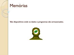 Memórias Apresentação