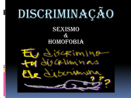 CP4.DR1-Os tipos de discriminação –V1