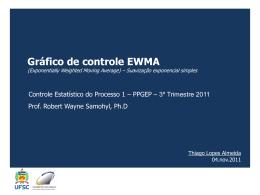 Slide 1 - Controle Estatístico de Processo
