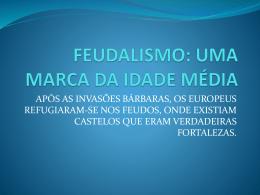 revisao feudalismo