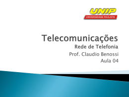 Redes de Telefonia Celular