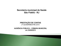 apresentacao Audiencia Publica 2015 SEGUN. quadrimestre